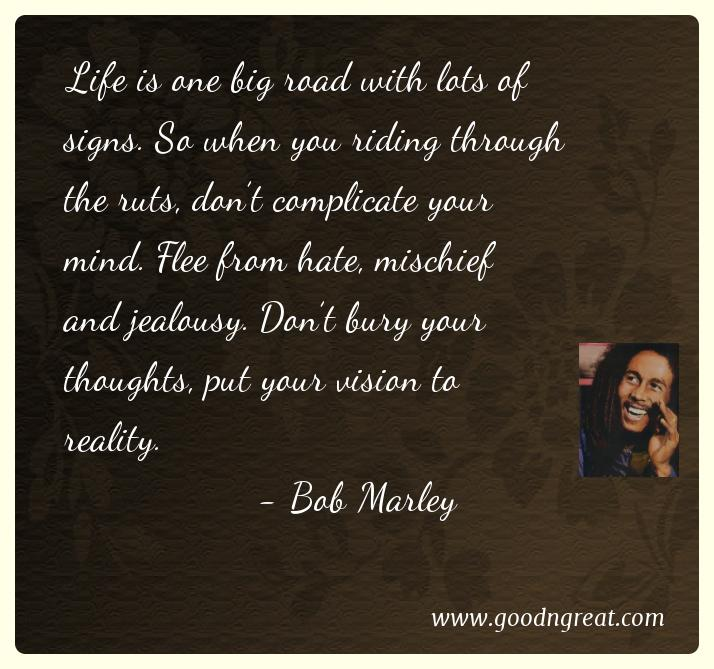 Bob Marley Quotes About Friendship Unique 21 Famous Bob Marley Quotes  Good And Great