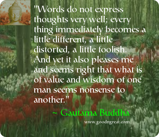 Daily Inspirational Quote by Gautama Buddha