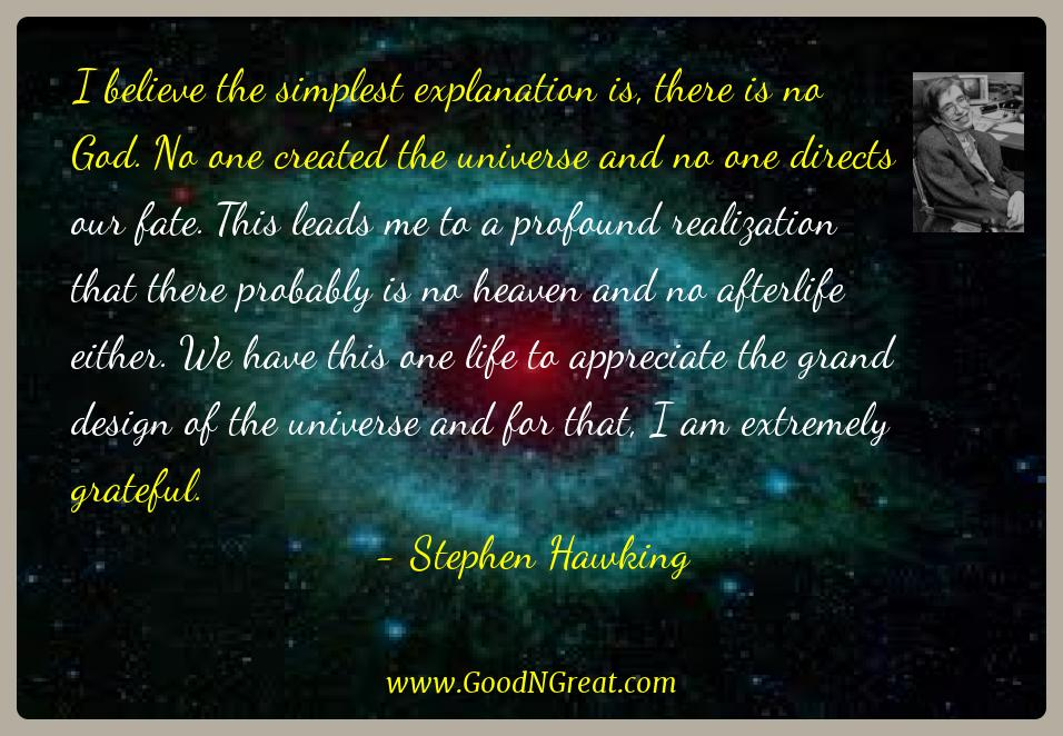 Stephen Hawking Quotes. U201c