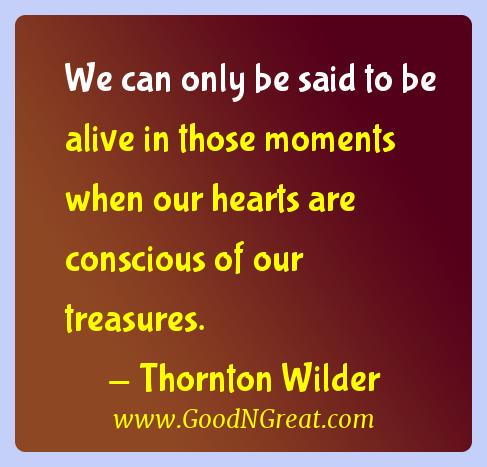 Thornton Wilder Gratitude Quotes