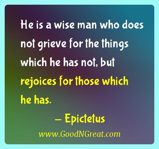 Epictetus Gratitude Quotes