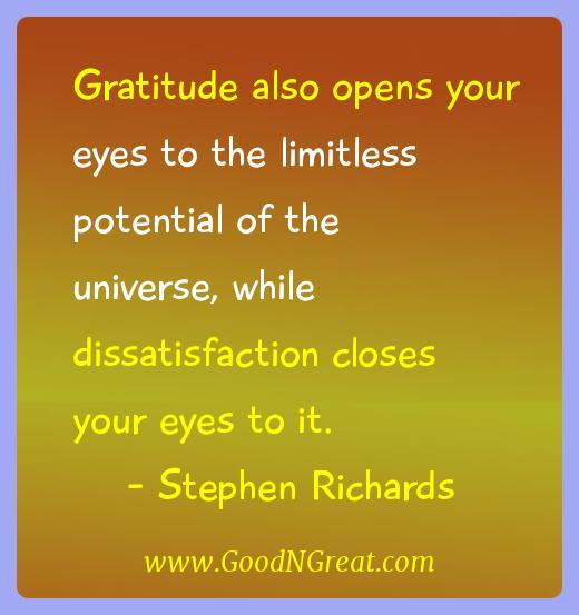 Stephen Richards Gratitude Quotes