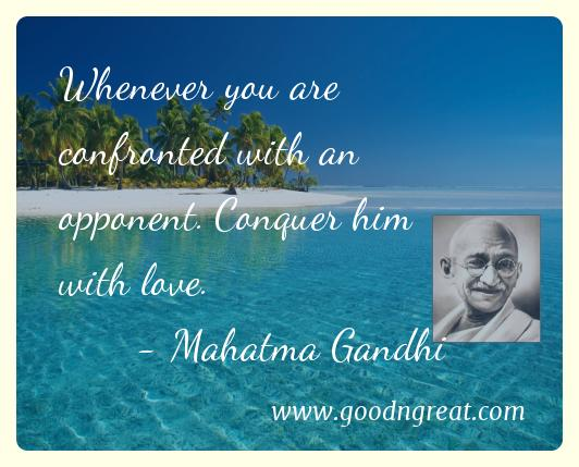 60 FAMOUS MAHATMA GANDHI QUOTES Good And Great Custom Mahatma Gandhi Quotes On Love