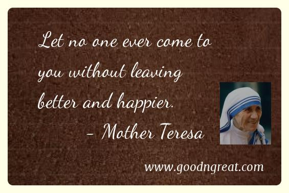 Picture Quotes Good And Great Awesome Mother Teresa Quotes On Anxiety