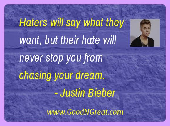 Justin Bieber Quotes