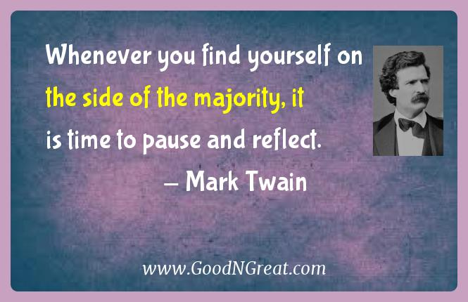 Mark Twain Success Quotes