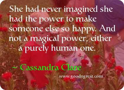 Quote by Cassandra Clare