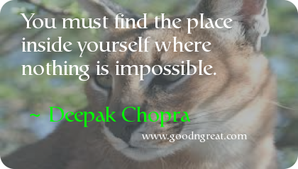Quote by Deepak Chopra