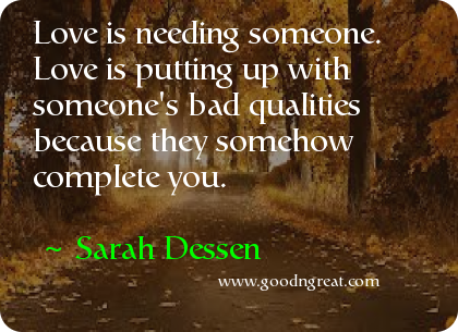 Quote by Sarah Dessen