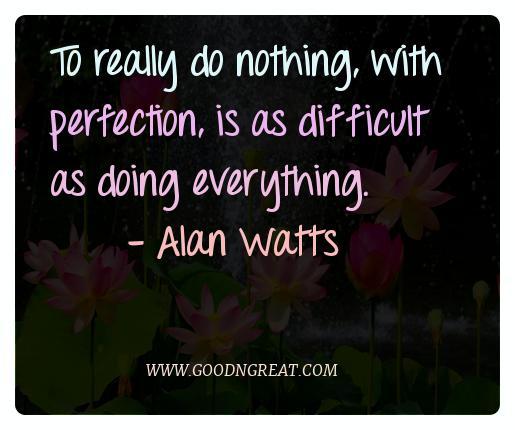 Meditation Quotes Alan Watts