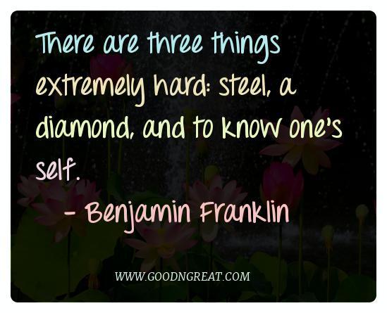 Meditation Quotes Benjamin Franklin