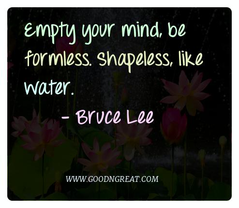 Meditation Quotes Bruce Lee