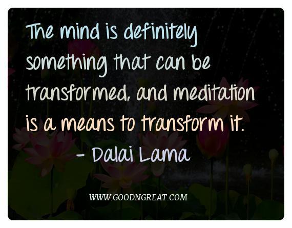 Meditation Quotes Dalai Lama
