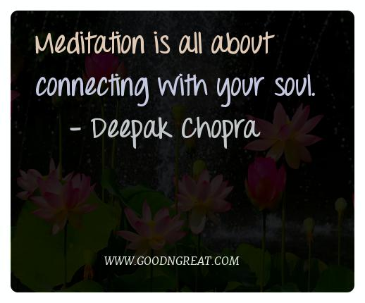 Meditation Quotes Deepak Chopra
