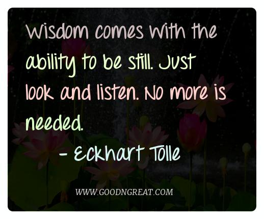 Meditation Quotes Eckhart Tolle
