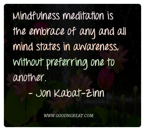 Meditation Quotes Jon Kabat Zinn