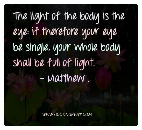 Meditation Quotes Matthew .