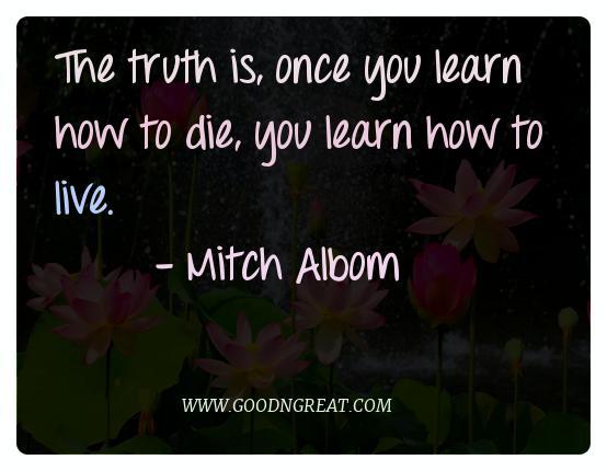Meditation Quotes Mitch Albom