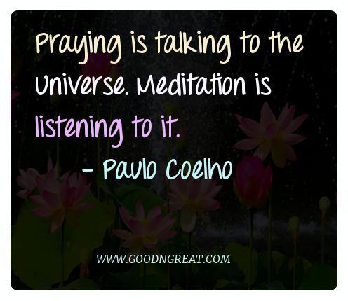 Meditation Quotes Paulo Coelho