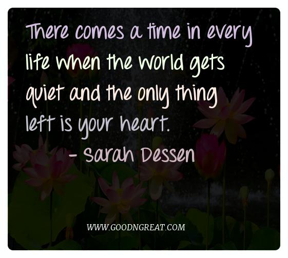 Meditation Quotes Sarah Dessen