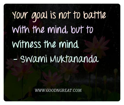 Meditation Quotes Swami Muktananda