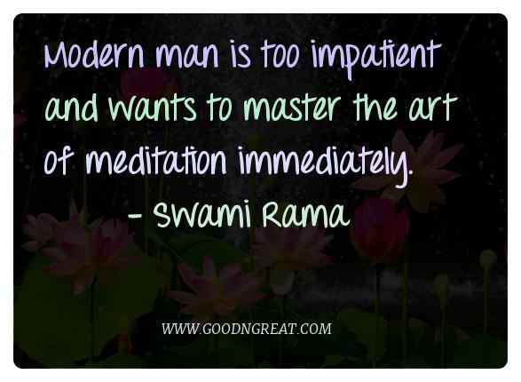 Meditation Quotes Swami Rama