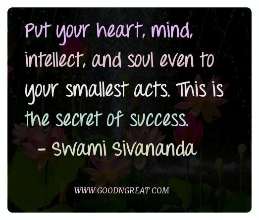 Meditation Quotes Swami Sivananda