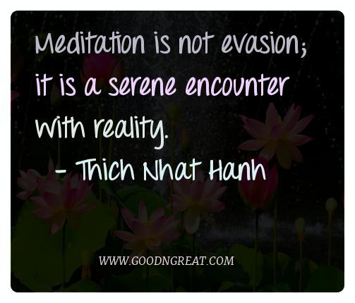 Meditation Quotes Thich Nhat Hanh