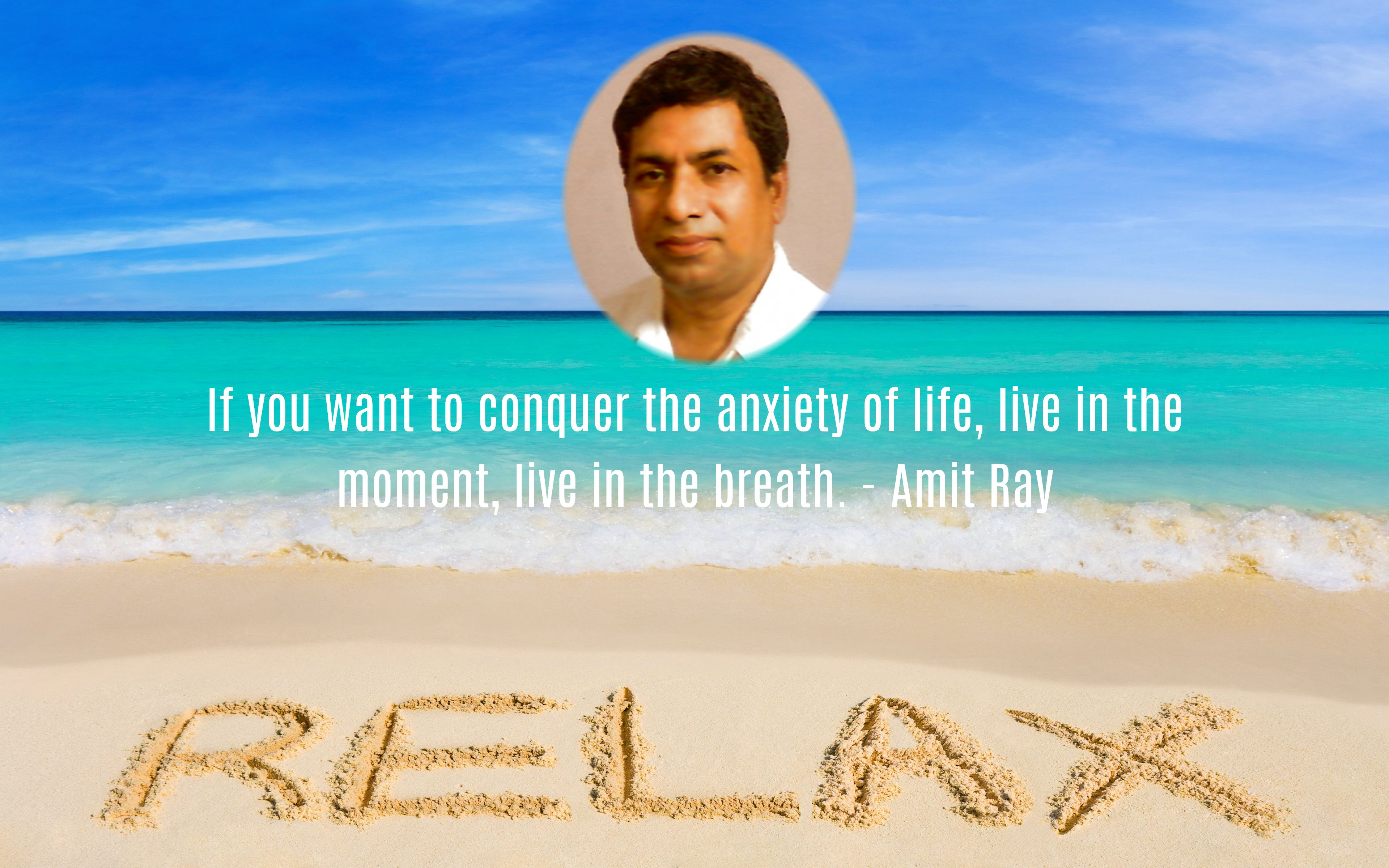 Vagus Nerve Activation and Relaxation - Amit Ray quote