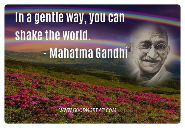 Inspirational Quotes Mahatma Gandhi