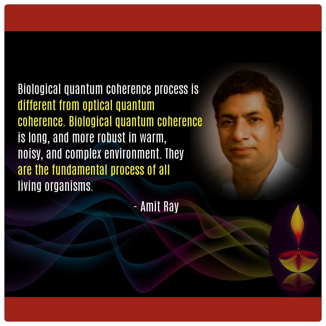 Quantum biology Quotes Amit Ray