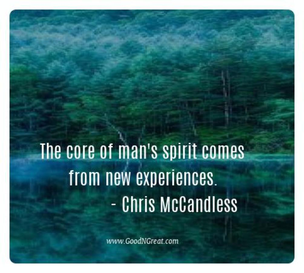 Inspirational Quotes Chris McCandless