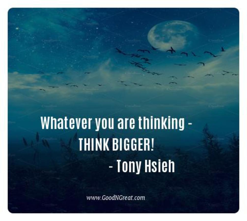 Inspirational Quotes Tony Hsieh