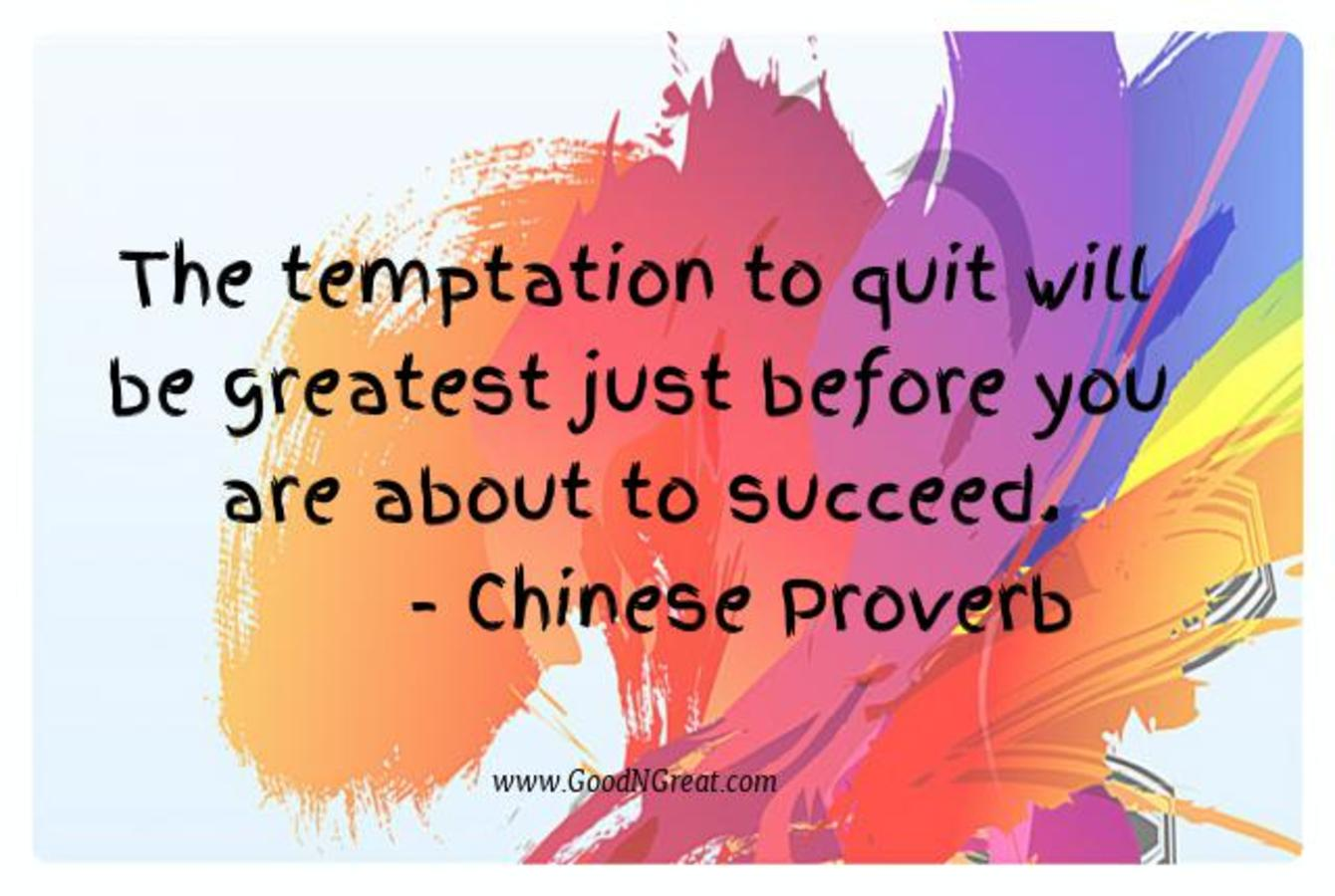 Motivational Quotes Chinese Proverb