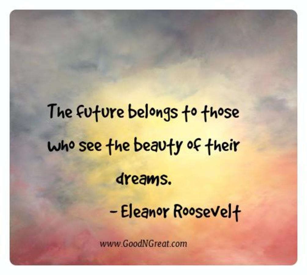 Motivational Quotes Eleanor Roosevelt