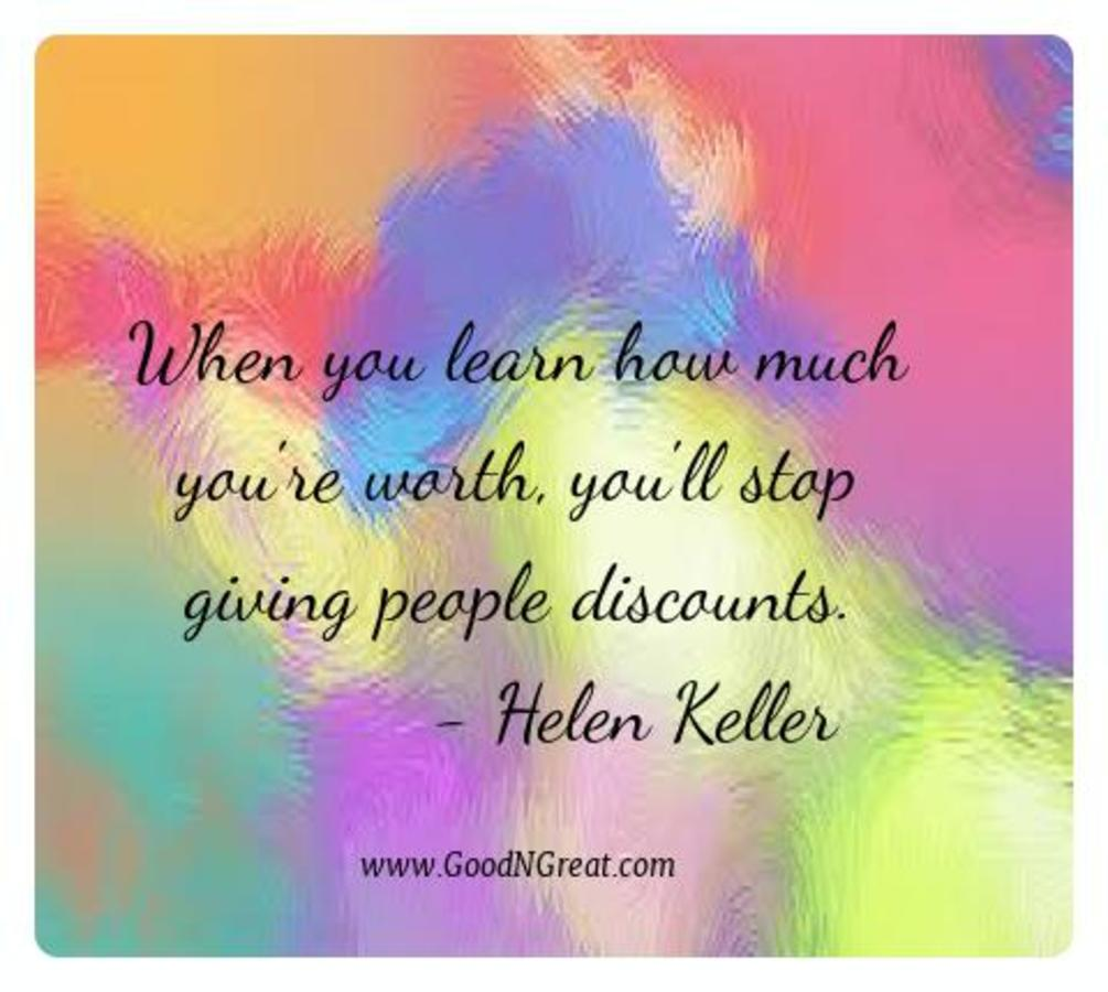 Motivational Quotes Helen Keller