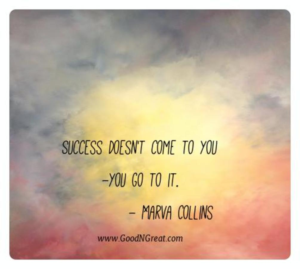 Motivational Quotes Marva Collins