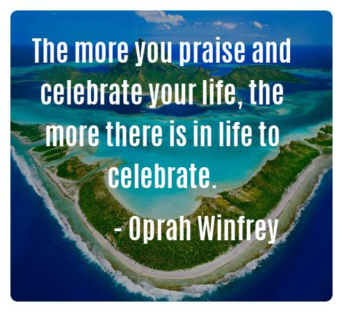 Positive thoughts Quotes Oprah Winfrey