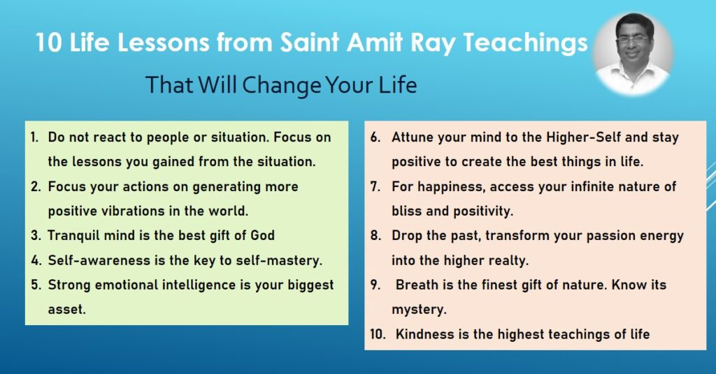 10 Life Lessons from Saint Amit Ray Teachings That Will Change Your Life